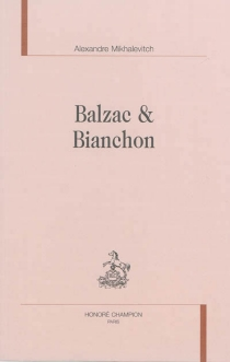 Balzac et Bianchon - AlexandreMikhalevitch