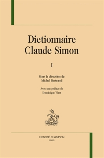 Dictionnaire Claude Simon -