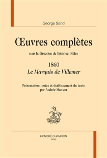 Oeuvres complètes | 1860 - GeorgeSand