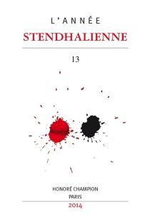 Année stendhalienne (L'), n° 13 - MarieParmentier