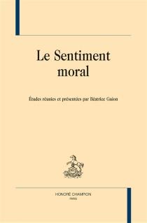 Le sentiment moral -