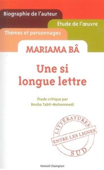 Mariama Bâ, Une si longue lettre - BoubaMohammedi-Tabti
