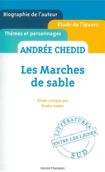 Andrée Chedid, Les marches de sable - ElodieGaden