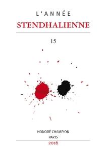 Année stendhalienne (L'), n° 15 -
