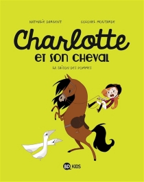 Charlotte et son cheval - Colonel Moutarde