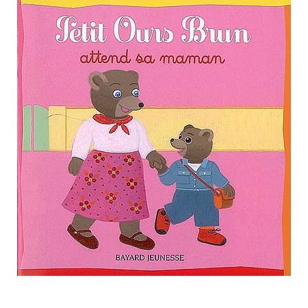Petit ours brun attend sa maman imagiers et premi res - Petit ours brun et sa maman ...