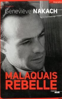 Malaquais rebelle - GenevièveNakach