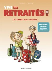 Vive les retraités en BD ! : le coffret 100 % détente ! - JackyGoupil