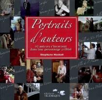 Portraits d'auteurs : 40 auteurs s'incarnent dans leur personnage préféré -