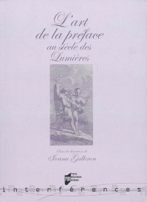 L'art de la préface au siècle des Lumières -