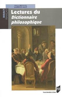 Lectures du Dictionnaire philosophique -