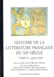 Histoire de la littérature française au XXe siècle -
