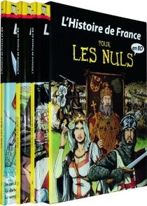 L'histoire de France pour les nuls en BD : coffret tomes 1 à 3 : des Gaulois aux Templiers -