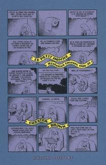 Le petit homme : histoires courtes, 1980-1995 - ChesterBrown