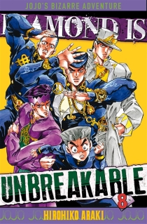 Diamond is unbreakable : Jojo's bizarre adventure - HirohikoAraki