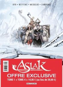Aslak : pack : tomes 1 et 4 - Hub