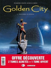 Golden City : pack 30 ans T1 à T3 - Nicolas Malfin
