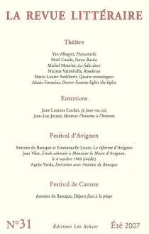 Revue littéraire (La), n° 31 -