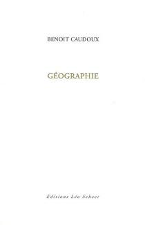 Géographie - BenoitCaudoux