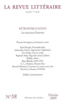 Revue littéraire (La), n° 38 -
