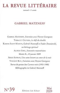 Gabriel Matzneff -