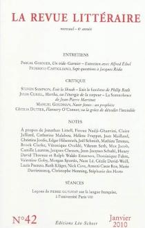 Revue littéraire (La), n° 42 -
