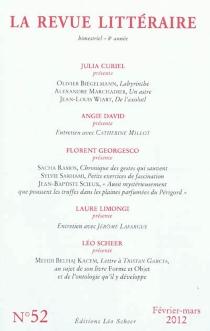 Revue littéraire (La), n° 52 -