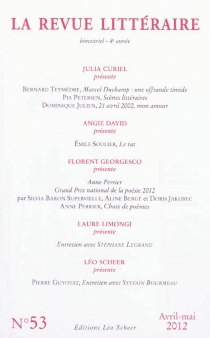 Revue littéraire (La), n° 53 -