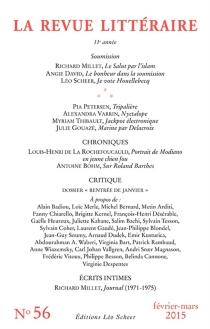 Revue littéraire (La), n° 56 -