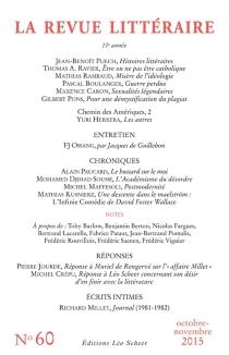 Revue littéraire (La), n° 60 -