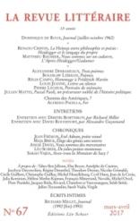 Revue littéraire (La), n° 67 -