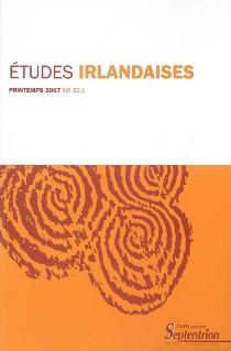 Etudes irlandaises, n° 32-1 -