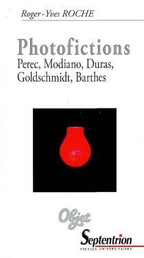 Photofictions : Perec, Modiano, Duras, Goldschmidt, Barthes - Roger-Yves Roche