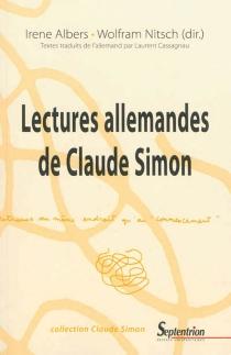 Lectures allemandes de Claude Simon - IreneAlbers