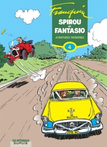 Spirou et Fantasio | Volume 4, Aventures modernes : 1954-1956 - AndréFranquin