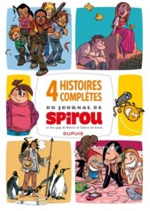 Méga Spirou. 4 histoires complètes du Journal de Spirou -