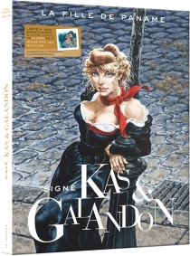 Coffret La fille de Paname - Laurent Galandon