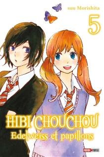 Hibi Chouchou : edelweiss et papillons - SuuMorishita