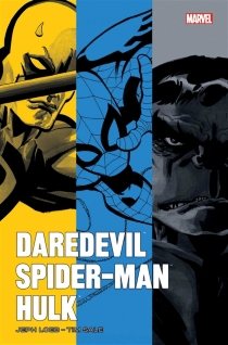 Daredevil : yellow| Spider-Man : blue| Hulk : gray - Jeph Loeb