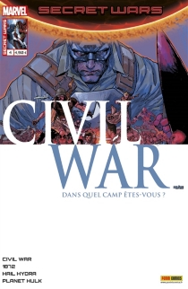 Secret wars : civil war, n° 4 -