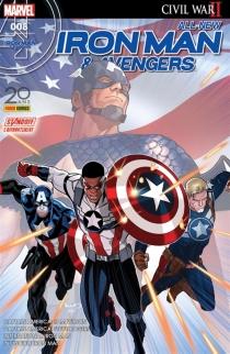 All-New Iron Man et Avengers, n° 8 - Brian MichaelBendis