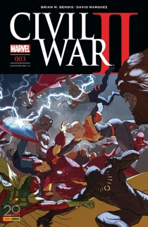 Civil war II, n° 3 - Brian MichaelBendis