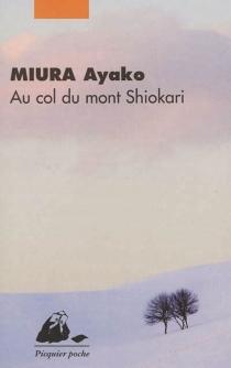 Au col du mont Shiokari - AyakoMiura
