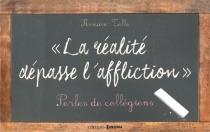 La réalité dépasse l'affliction : perles de collégiens - RomainTello