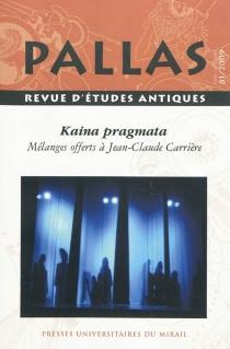 Pallas, n° 81 -