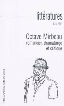 Littératures, n° 64 -