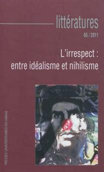 Littératures, n° 65 -