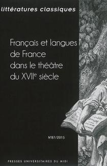 Littératures classiques, n° 87 -