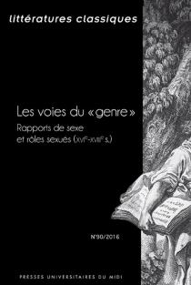 Littératures classiques, n° 90 -