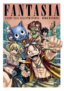 Fantasia : Fairy Tail illustrations - Hiro Mashima